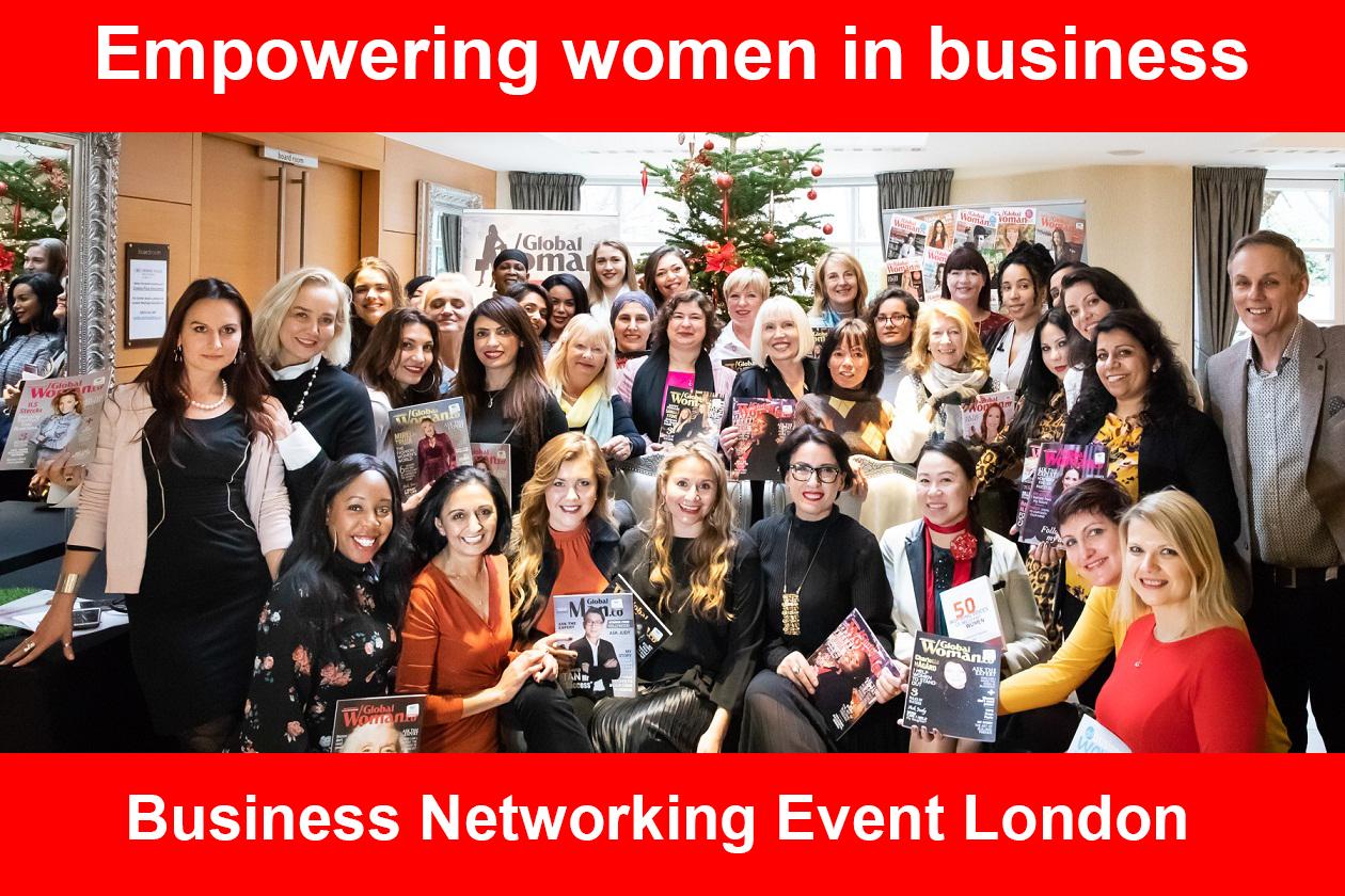 Global Woman Club Business Networking Event London, London, United Kingdom