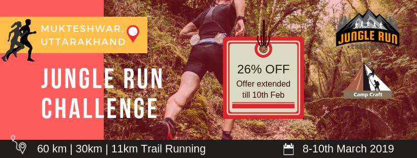 Jungle Run Challenge, Mukteshwar, Uttarakhand, India