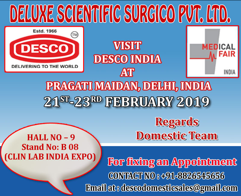 Medical Fair 2019, New Delhi, Delhi, India