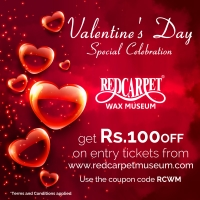 Valentine's Day Special Celebration at Red Carpet Wax Museum Mumbai