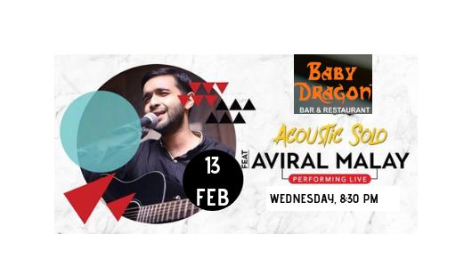 Aviral Malay- Performing Live at Baby Dragon Bar Restaurant, Noida, Gautam Buddh Nagar, Uttar Pradesh, India