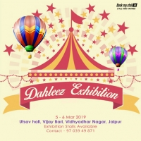Dahleez Lifestyle Exhibition at Jaipur - BookMyStall