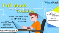 Full Stack Training in Ameerpet, Hyderabad - Free Demo | Visualpath