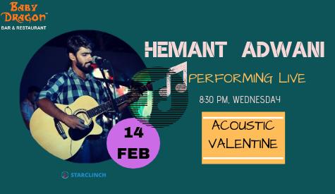 Hemant Adwani - Performing LIVE at Baby Dragon Bar & Restaurant, Noida, Gautam Buddh Nagar, Uttar Pradesh, India