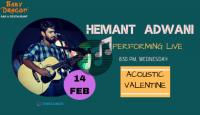 Hemant Adwani - Performing LIVE at Baby Dragon Bar & Restaurant, Noida