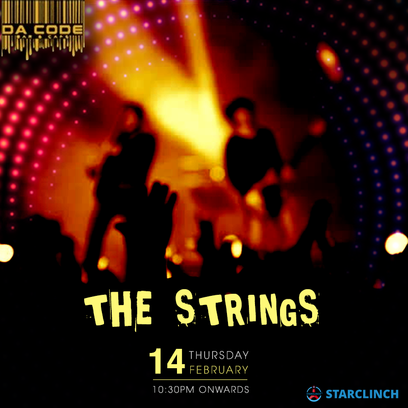 The Strings Russian Instrumentalists - Performing LIVE At Da Code, South Ex., South Delhi, Delhi, India