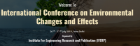 International Conference on Environmental Changes and Effects