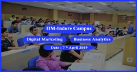 Digital Marketing and Business Analytics Workshop in IIM Indore Campus