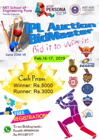 IPL AUCTION BIDMASTER