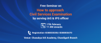 How to approach Civil Services as career option