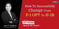 H-1B For F-1 Students: How To File It Successfully?
