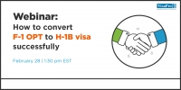 How To Convert F-1 Visa To H-1B Visa Successfully