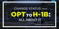 Change Status From OPT To H-1B: All About It