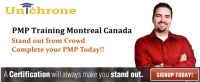 PMP Training Course Montreal, Canada