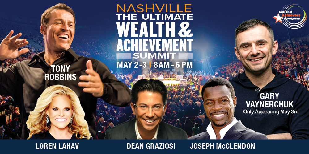 Tony Robbins & Gary Vaynerchuk Live! Nashville, Davidson, Tennessee, United States