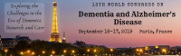 13th World Congress on Dementia and Alzheimer's Disease