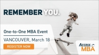 Exclusive MBA Event in Vancouver on the March 18th