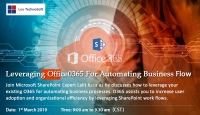 Leveraging Office365 for automating business flow