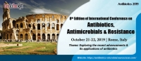 8th Edition of International Conference on Antibiotics, Antimicrobials & Resistance