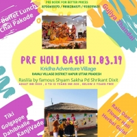 Pre Holi Bash-Kridha Adventure Village