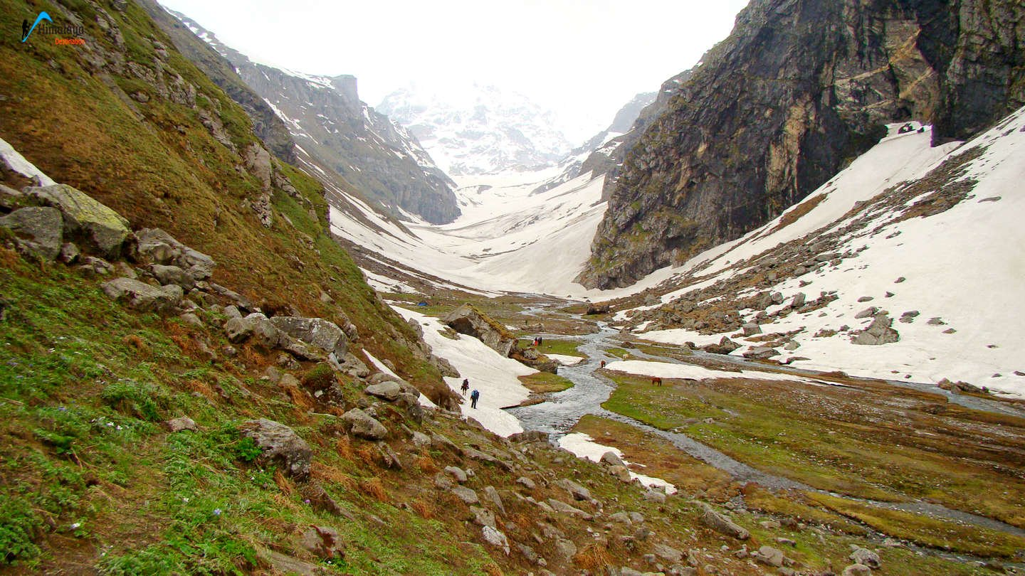 Hampta Pass Chandratal Lake Trek, Kullu, Himachal Pradesh, India