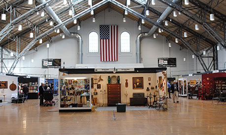 The Connecticut Spring Antiques Show, Hartford, Connecticut, United States