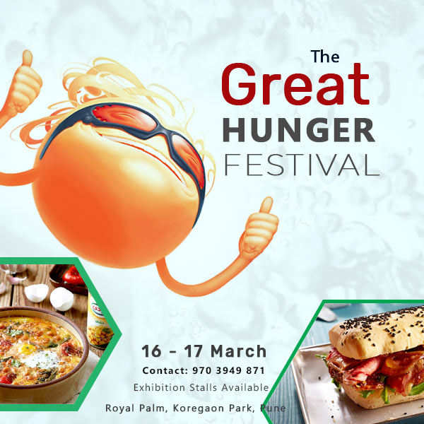 The Great Indian Hunger Festival at Pune - BookMyStall, Pune, Maharashtra, India