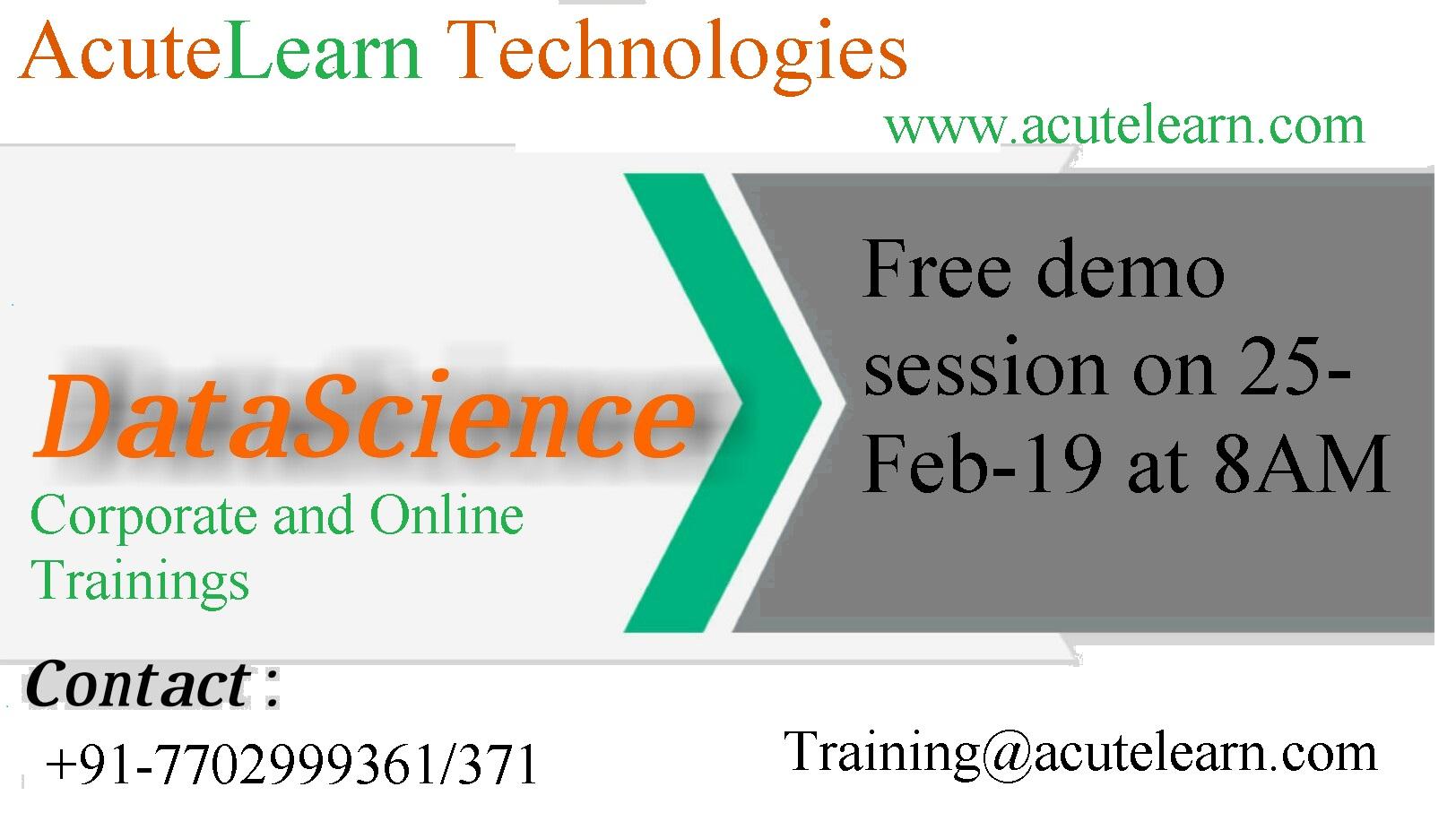 Best Data science Training Institute in Hyderabad