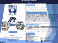 ONE-DAY NATIONAL WORKSHOP ON CAD/CAM, CNC PROGRAMMING & TRAINING IN VERTICAL MACHINING CENTRE