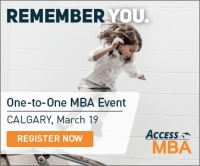 Exclusive MBA Event in Calgary on March 19th
