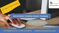 Servicenow Online Training Attend free DEMO classes