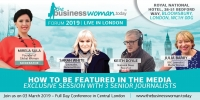 Business Woman Today Forum at Central London