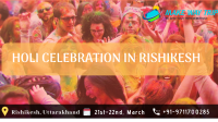 HOLI CELEBRATION IN RISHIKESH