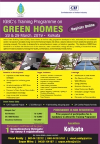 Training Programme on Green Homes