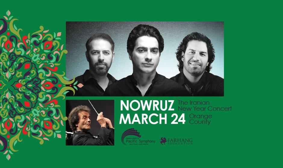 Nowruz Concert with Homayoun Shajarian & the Pournazeri Brothers, Orange, California, United States