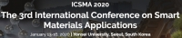 2020 The 3rd International Conference on Smart Materials Applications (ICSMA 2020)