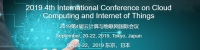 CCIOT 2019 4th CFP on Cloud Computing and Internet of Things Tokyo, Japan