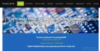 Scopus-Indexed IEEE International Conference on Communication and Electronics Systems 2019