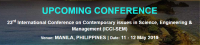 23rd International Conference on Contemporary issues in Science, Engineering & Management (ICCI-SEM)