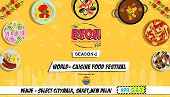 byoh food fest season-2, New Delhi, Delhi, India