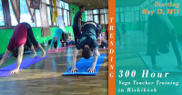 300 Hour Yoga Teacher Training - May 2019