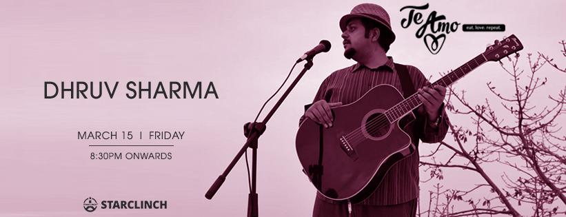 Dhruv Sharma - Performing LIVE At Te Amo, Ansal Plaza, South Delhi, Delhi, India