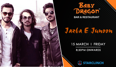 Jazba-E-Junoon Performing Live At Baby Dragon Bar & Restaurant, Gautam Buddh Nagar, Uttar Pradesh, India