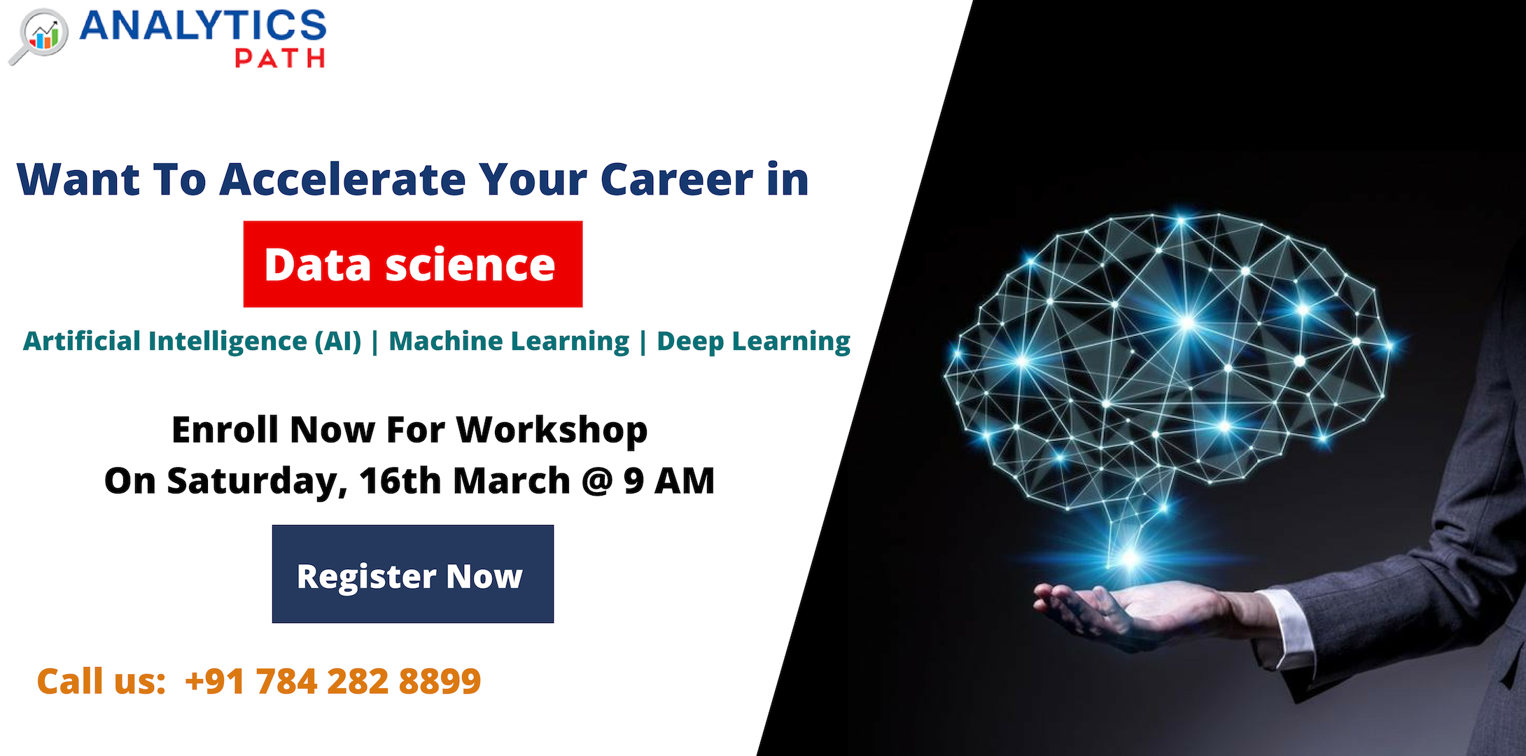 Attend Free Workshop On Data Science Training By Real Time Experts From IIT And IIM At Analytics Path Scheduled On 16th March, 9 AM, In Hyderabad, Hyderabad, Telangana, India