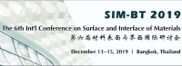 The 6th Int'l Conference on Surface and Interface of Materials (SIM-BT 2019)