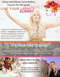 Live Your Legacy Summit 2019