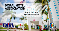 Doral Hotel Association Monthly Pow Wow