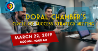 Doral Chamber of Commerce's Circle of Success Strategy Meeting