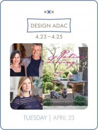 """""""Patina Living: Designing A Life"""" at DESIGN ADAC"""