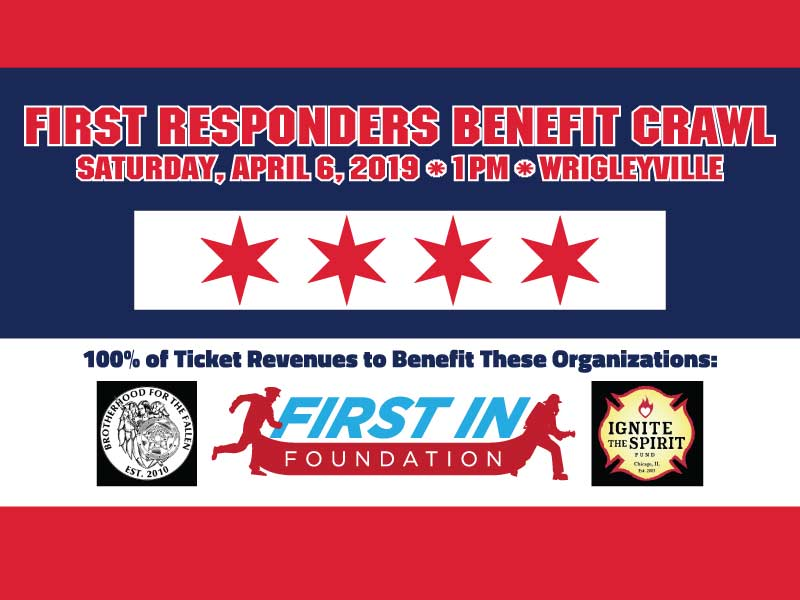 First Responders Benefit Bar Crawl, Cook, Illinois, United States